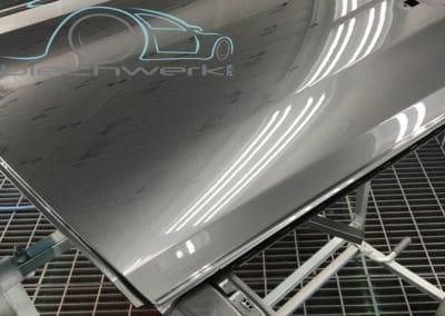 Audi Tuere Metallic lackiert