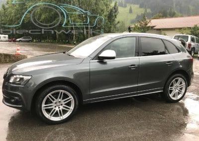 Audi fertig lackiert