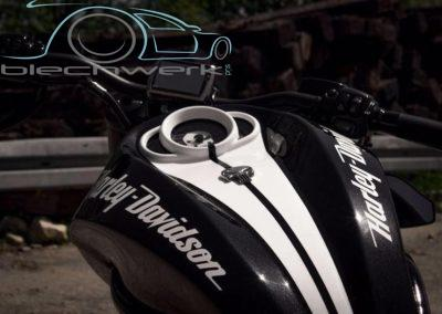Harley Davidson Tank lackiert