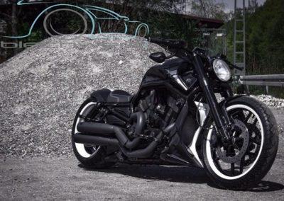 Harley lackiert