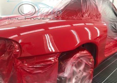 Mazda Lackierung rot