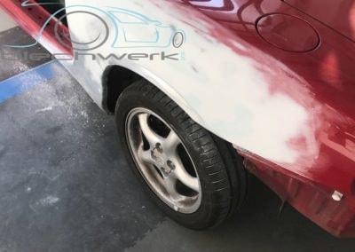 Mazda Vorbereitung schleifen