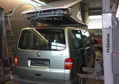 Montage VW Aufstelldach