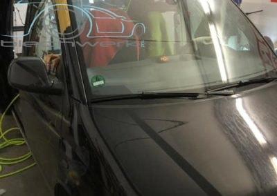 Reimo Dach Einbau am VW Frontschutz