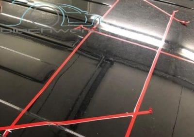 Reimo Dach Einbau am VW Vorbereitung