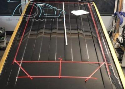 Reimo Dach Einbau am VW Vorbereitungen