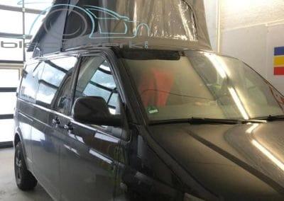 Reimo Dach Einbau am VW fertig