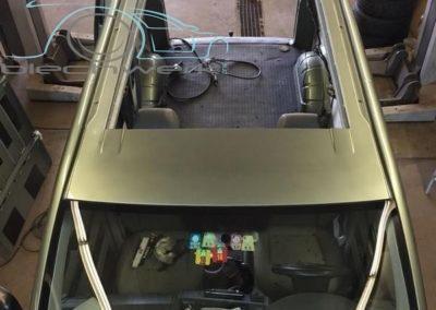 VW Dach auschneiden