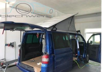 VW Umbau Aufstelldach